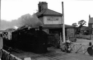 The former Belton railway station photographed here in 1961, about 400yards from the spot where in 1889 a young woman was killed be a train