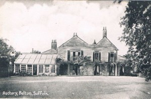 Belton rectory in the early years of the 20th Century.