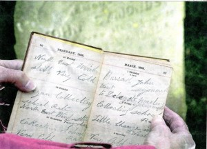 The diary of a grave - digger in the 19th Century