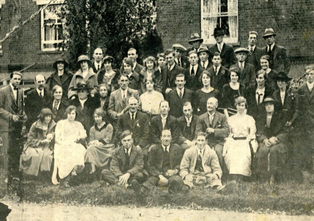 Belton dance club in the 1920's