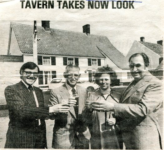 Belton Railway Tavern take new look 1979
